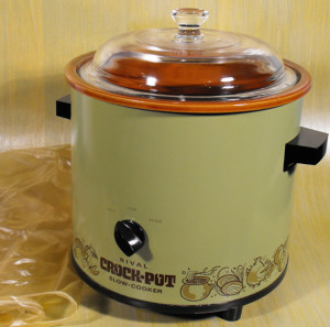 Vintage Crockpot - I still have one like this!